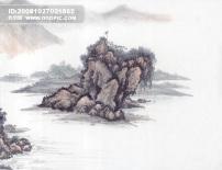 中国 高山/山沟 山脉 峰回路转山峰山峦山..
