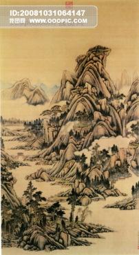 中国民间艺术品 中华刺绣 民间艺术 山水画 清明上河图 古画 花瓶 风景
