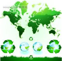 地球/绿色的地球